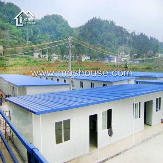 Maison pr fabriqu e imperm able l 39 eau de style de k d 39 anti tremblement de terre fabrication for Maison prefabriquee occasion