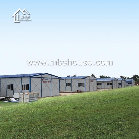 Maison pr fabriqu e en structure l g re en acier pour r fugi fournisseurs fabricants et usines for Maison prefabriquee occasion
