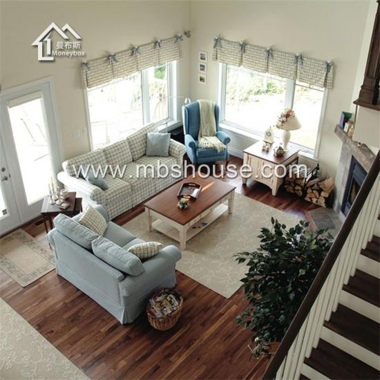 structure en acier l g re pr fabriqu e maison villa de luxe moderne nouveau design fournisseurs. Black Bedroom Furniture Sets. Home Design Ideas